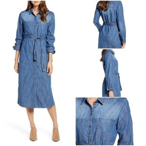 Caslon Women's Denim Dress Size M